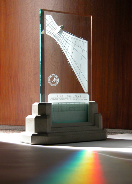 The Spectra anniversary sundial makes a perfect first anniversary gift idea.