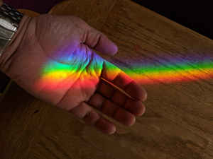 Spectra sundials provide rainbow color you can feel